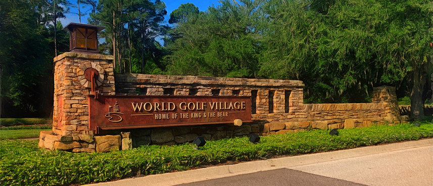 World Golf Village entrance