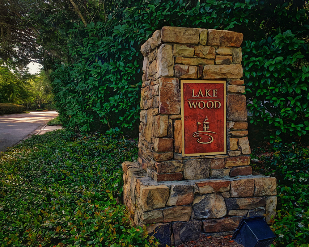 Lakewood neighborhood entrance